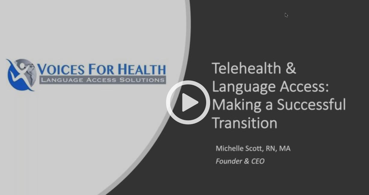 Telehealth & Language Access Thumbnail